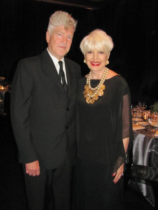 Joining me for a photo at Orange County Museum of Art's Art of Dining was the iconic filmmaker and visual artist David Lynch