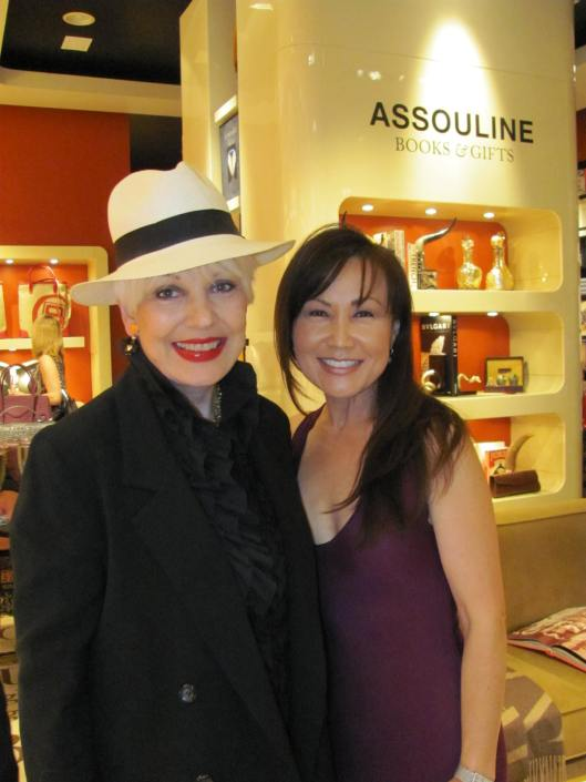 Joining me at her Jessica Grant for Assouline Handbag launch was owner/creative designer Suzan Paek