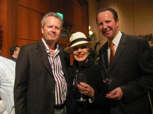 Joining me at the Balboa Bay Club & Resort's 10th Annual Wine Festival were club owner Tim Busch, left, and General Manager Dieter Hissin