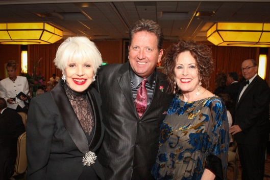 Shawn Parr and Sue Hook join me at the Cystic Fibrosis Guild's 30th anniversary gala