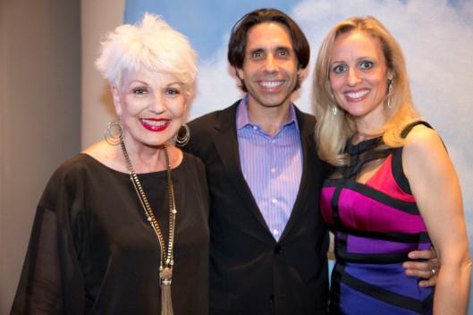 Tim and Pamela Winslow Kashani join me for opening night of Bridge 2 Broadway's original musical, Higher Education