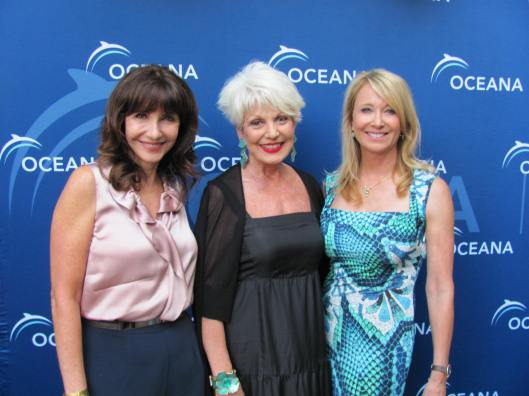 Joining me at the sixth annual Oceana SeaChange Party were actress Mary Steenburgen and co-chair Valarie Van Cleave