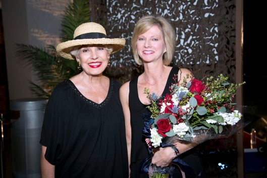 Joining me at the Festival of Children Foundation's Opening Night Party was its Founder and Executive Director Sandy Segerstrom Daniels, who is also a Managing Partner of South Coast Plaza