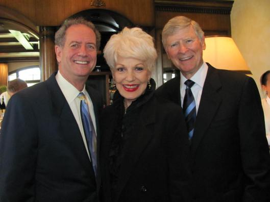 """Joining me at the Literacy Project Foundation """"What Dreams Are Made Of"""" fundraiser were two of the honorees - Corporate Partner of the Year, Doug Freeman (left), and Distinguished Humanitarian Ed Arnold"""