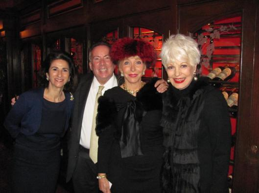 """Joining me at the Harbor Ridge Women's Club luncheon, from left, are Ruth Peltason, author of """"David Webb: The Quintessential American Jeweler,"""" Kevin Parker, Director of the David Webb boutique in Beverly Hills, and club Program Chair Sandy Chiles"""