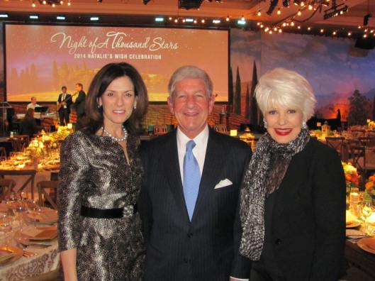 "Joining me at the 11th Annual ""Natalie's Wish"" gala at the Balboa Bay Resort are the Cystinosis Research Foundation founders Nancy and Jeff Stack"