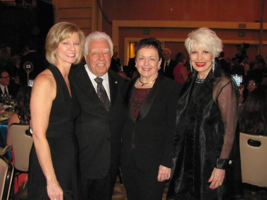 "Joining me at OCSA's ""One Time Only"" gala were its co-chairs Sandy Segerstrom Daniels and S. Paul & Marybelle Musco"