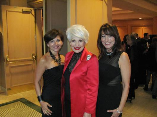 Joining me at CASA of Orange County's Celebration of Children Black & White Ball were its co-chairs Lourdes Nark, left, and Wendy Tenebaum