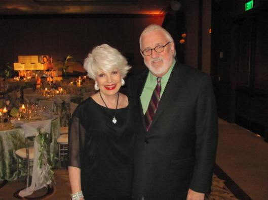"Joining me at the Philharmonic Society of Orange County's ""60th Anniversary Celebration Dinner"" honoring its beloved President/Artistic Director Dean Corey (pictured)"