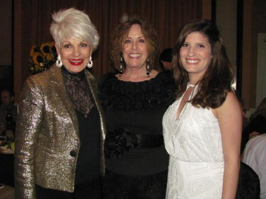 Joining me at Cystic Fibrosis of Orange County's  31st Annual Cystic Fibrosis Gala were Guild President Sue Hook and CF patient, advocate and gala speaker Stacy Motenko
