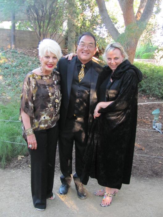 "Joining me at the Santa Ana Zoo's 22nd Annual ""Zoofari Magic"" benefit are its Director, Kent Yamaguchi, and Friends of Santa Ana Zoo's Executive Director Cathi Decker"