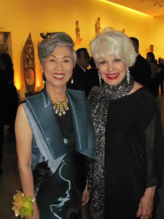 "Joining me at Bowers Museum's gala exhibition opening of ""China's Lost Civilization, the Mystery of Sansingdui"" was the museum Board of Governors Chairman Anne Shih"
