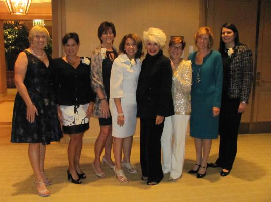 "Joining me for Girl Scouts of Orange County's Fifth Annual ""Celebrate Leadership"" benefit were, from left,"