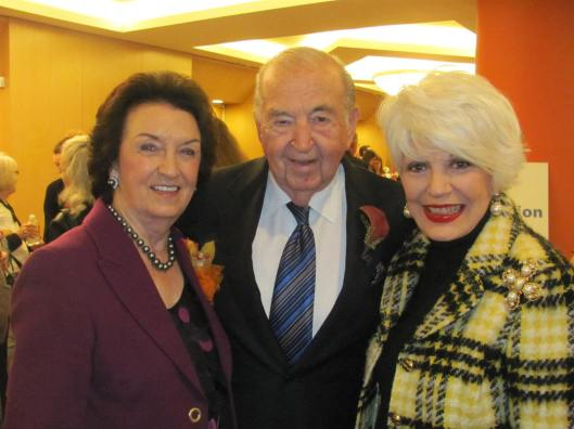 Joining me at National Philanthropy Day at Hotel Irvine were the Outstanding Legacy Award recipients, General William and Willa Dean Lyon