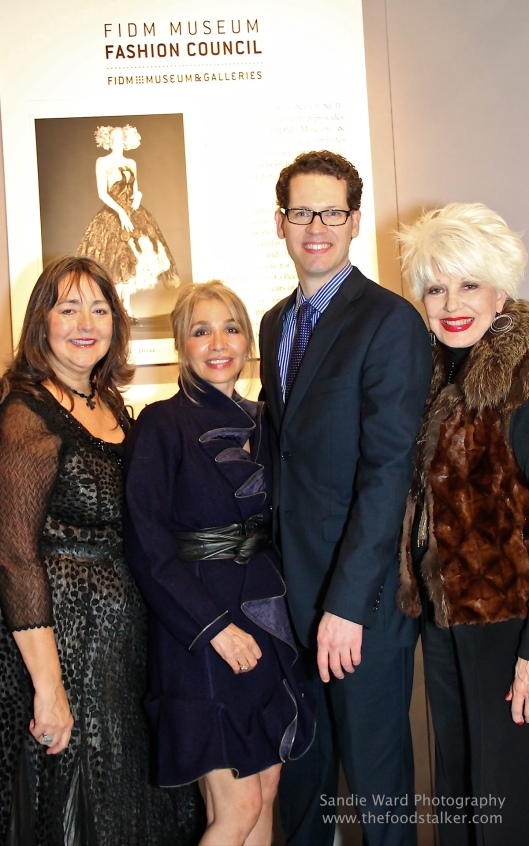 Joining me at the Los Angeles Antique, Design & ?????? Show on ????? Night, were, from left, FIDM Fashion Council member, FIDM ?????????? Mima Ransom and FIDM Curator Kevin Jones????. The evening benefit FIDM's ????????.